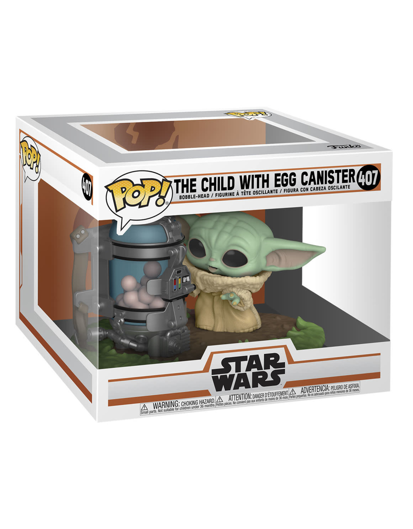 FUNKO POP THE CHILD WITH EGG CANISTER