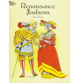 DOVER PUBLICATIONS RENAISSANCE FASHIONS COLORING BOOK