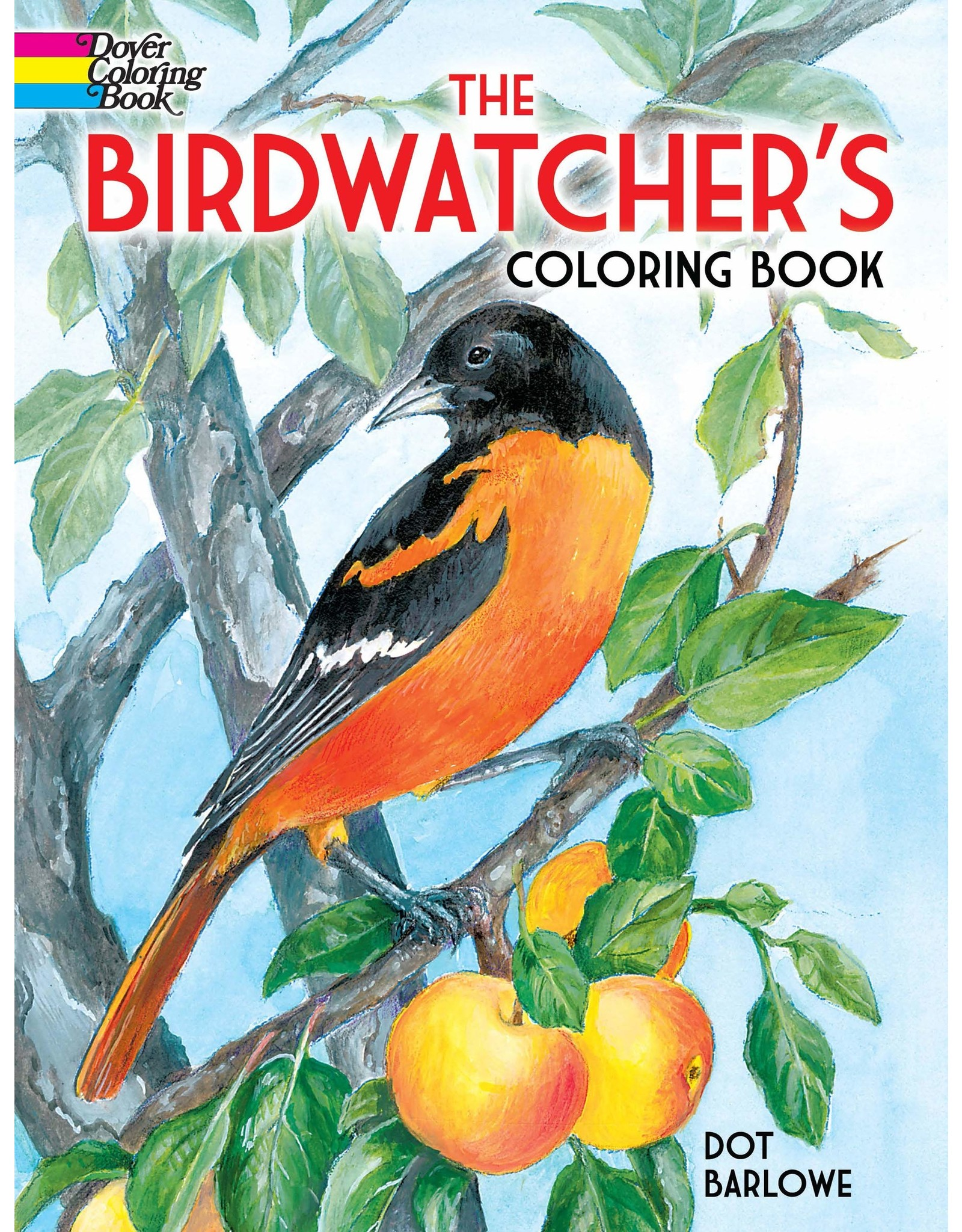 DOVER PUBLICATIONS THE BIRDWATCHER'S COLORING BOOK