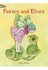 DOVER PUBLICATIONS FAIRIES AND ELVES COLORING BOOK