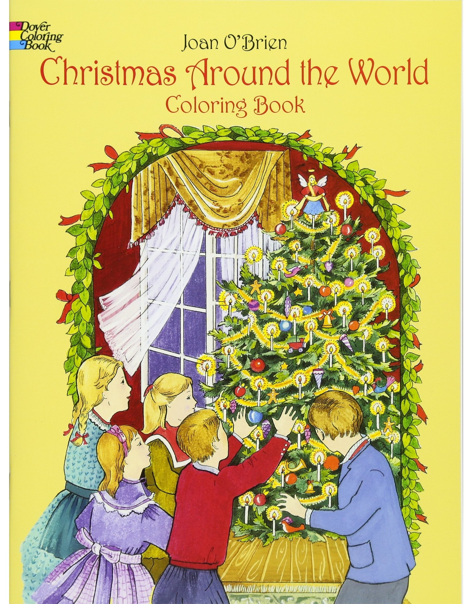DOVER PUBLICATIONS CHRISTMAS AROUND THE WORLD COLORING BOOK
