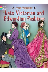 DOVER PUBLICATIONS LATE VICTORIAN AND EDWARDIAN FASHIONS