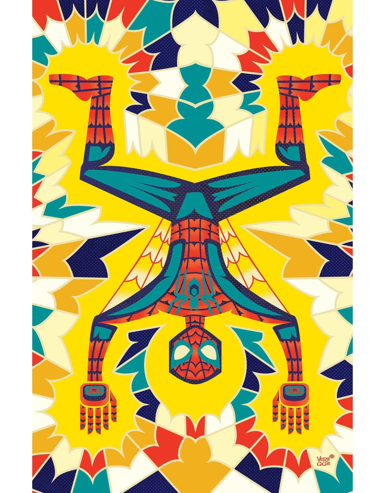 MARVEL COMICS AMAZING SPIDER-MAN #52 VEREGGE SPIDER-MAN VAR LAST