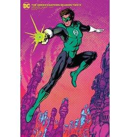 DC COMICS GREEN LANTERN SEASON TWO #9 (OF 12) CVR B CHRIS BURNHAM VAR