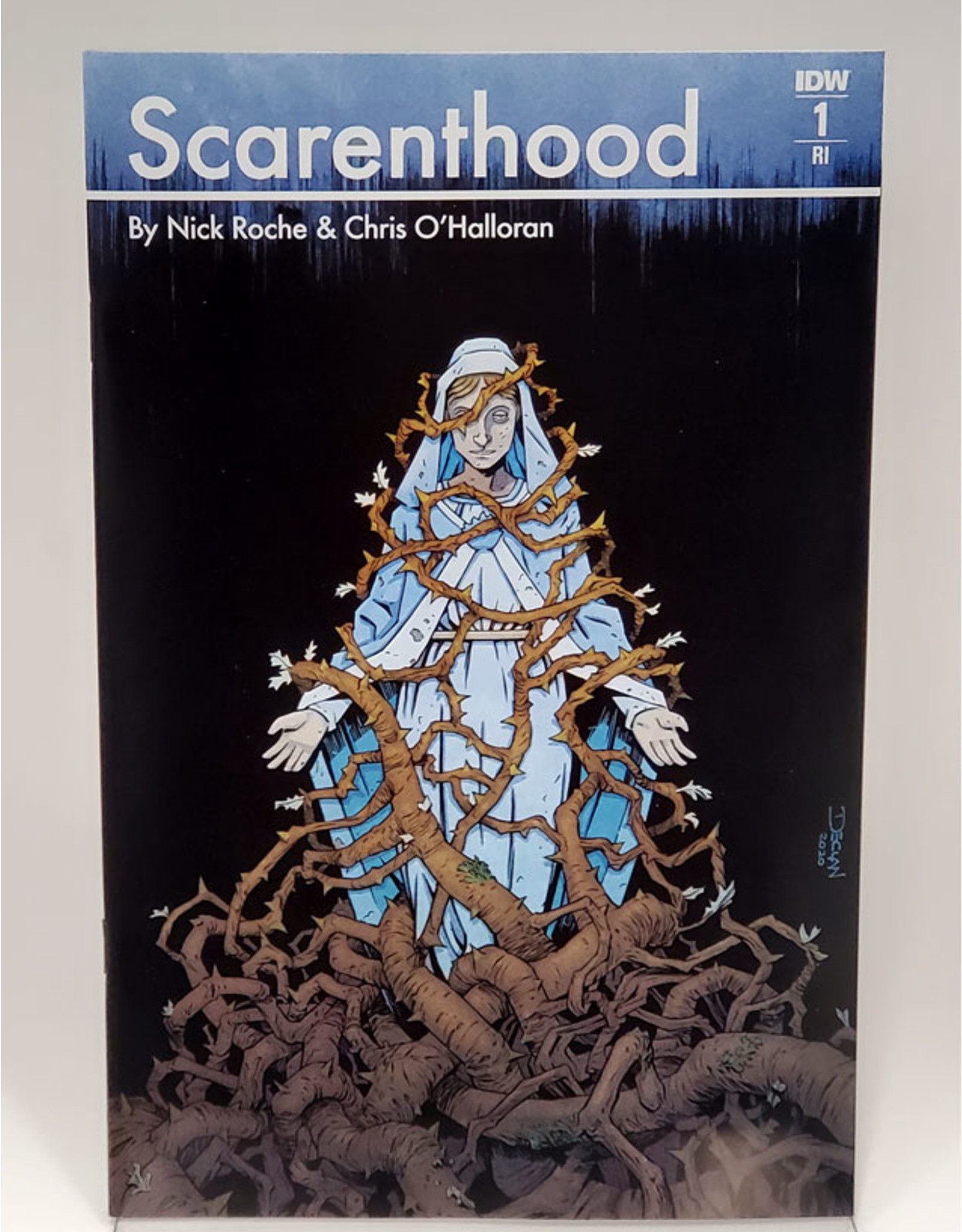 IDW PUBLISHING SCARENTHOOD #1 (OF 4) 1:10 INCENTIVE DECLAN SHALVEY
