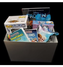 ILLUSIVE COMICS LET IT SNOW FROZEN GIFT BASKET