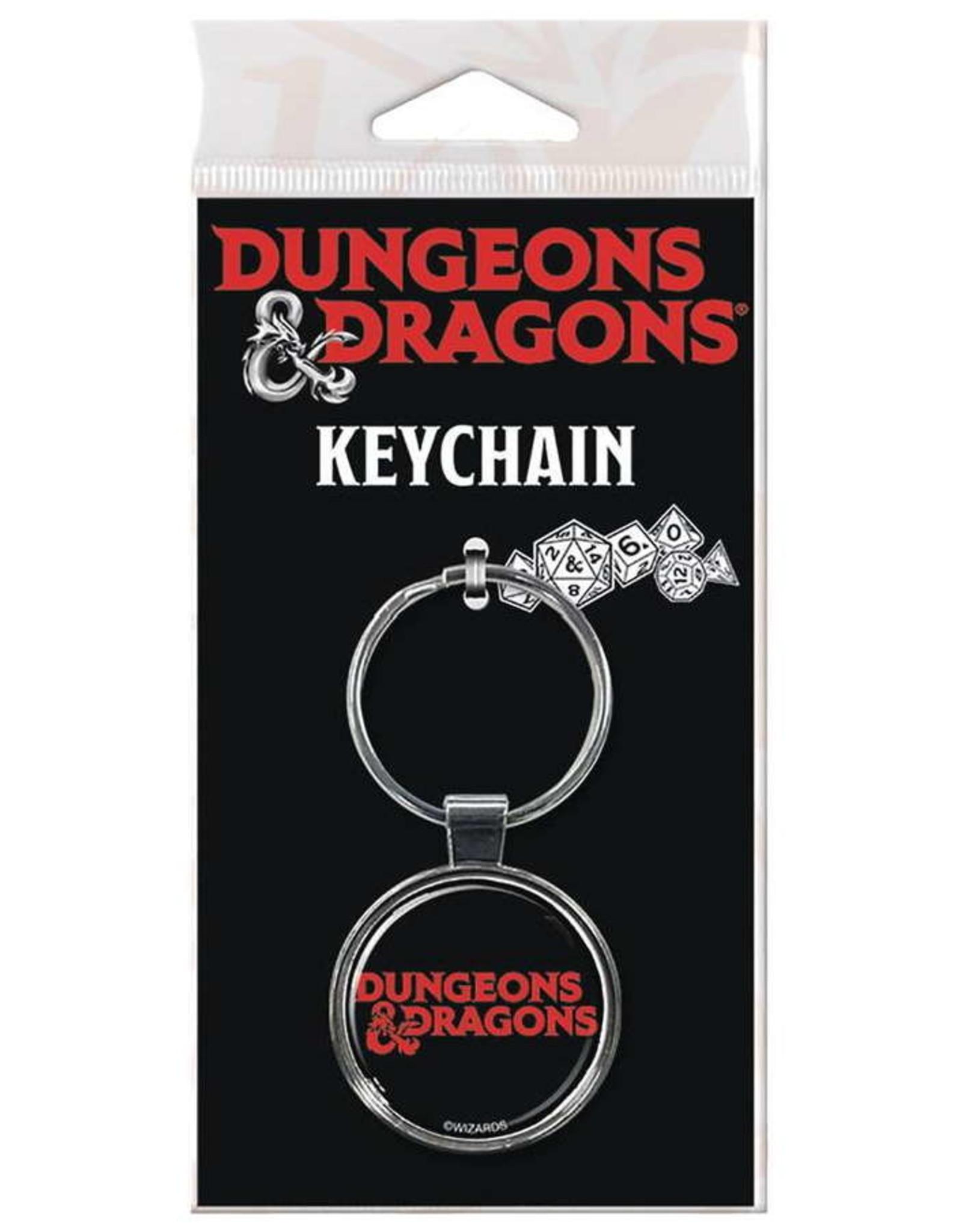 DUNGEONS & DRAGONS KEYCHAIN LOGO