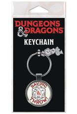 Ata-boy DUNGEONS & DRAGONS KEYCHAIN SAVING THROW