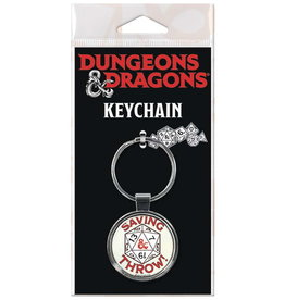DUNGEONS & DRAGONS KEYCHAIN SAVING THROW