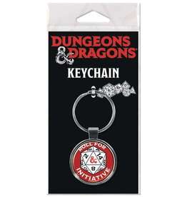 DUNGEONS & DRAGONS KEYCHAIN ROLL FOR INITIATIVE
