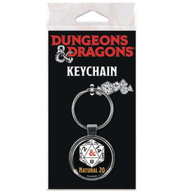 DUNGEONS & DRAGONS KEYCHAIN NATURAL 20