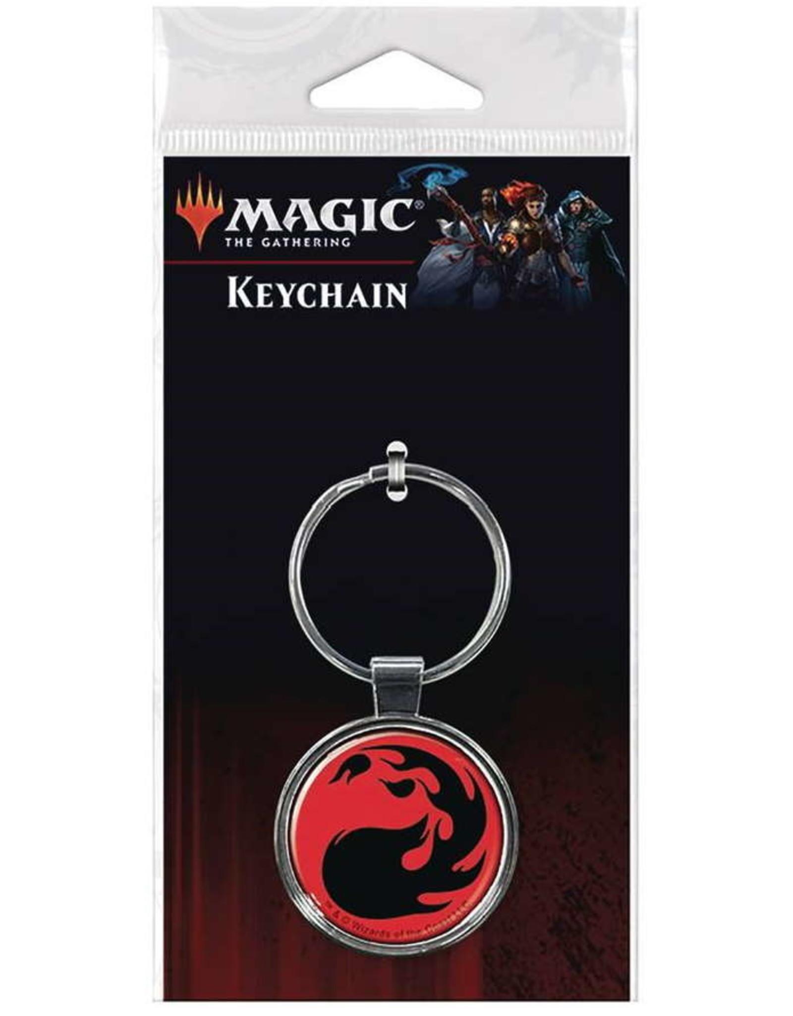 MAGIC THE GATHERING KEYCHAIN FIRE MANA