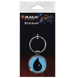 MAGIC THE GATHERING KEYCHAIN WATER MANA