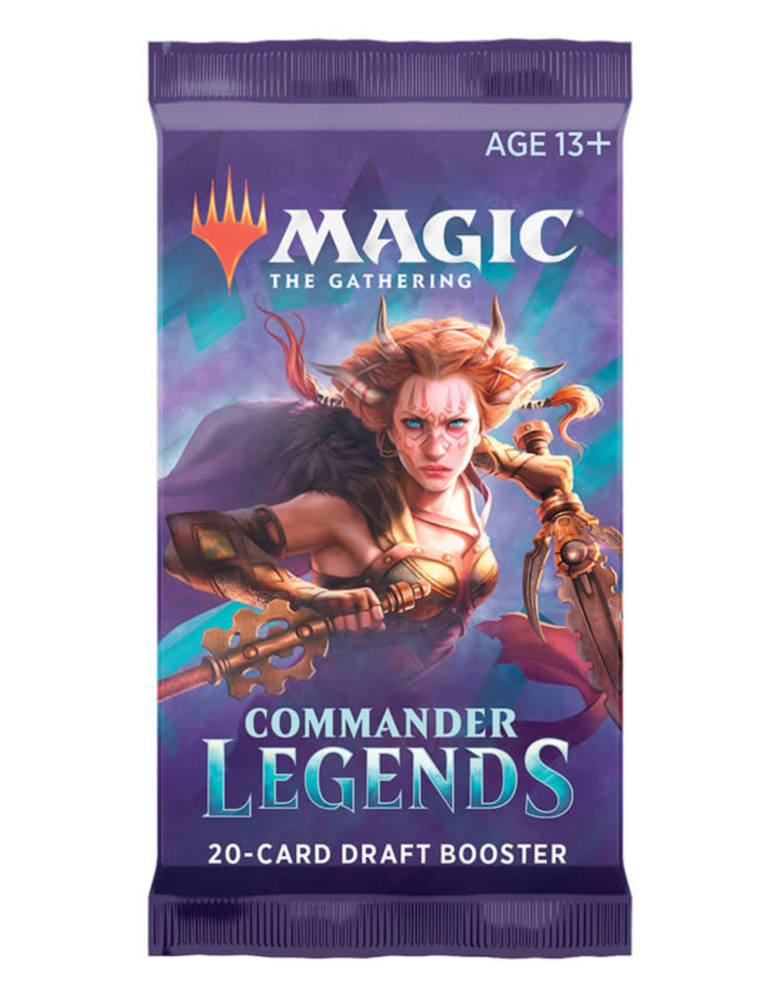 WIZARDS OF THE COAST COMMANDER LEGENDS DRAFT BOOSTER PACK