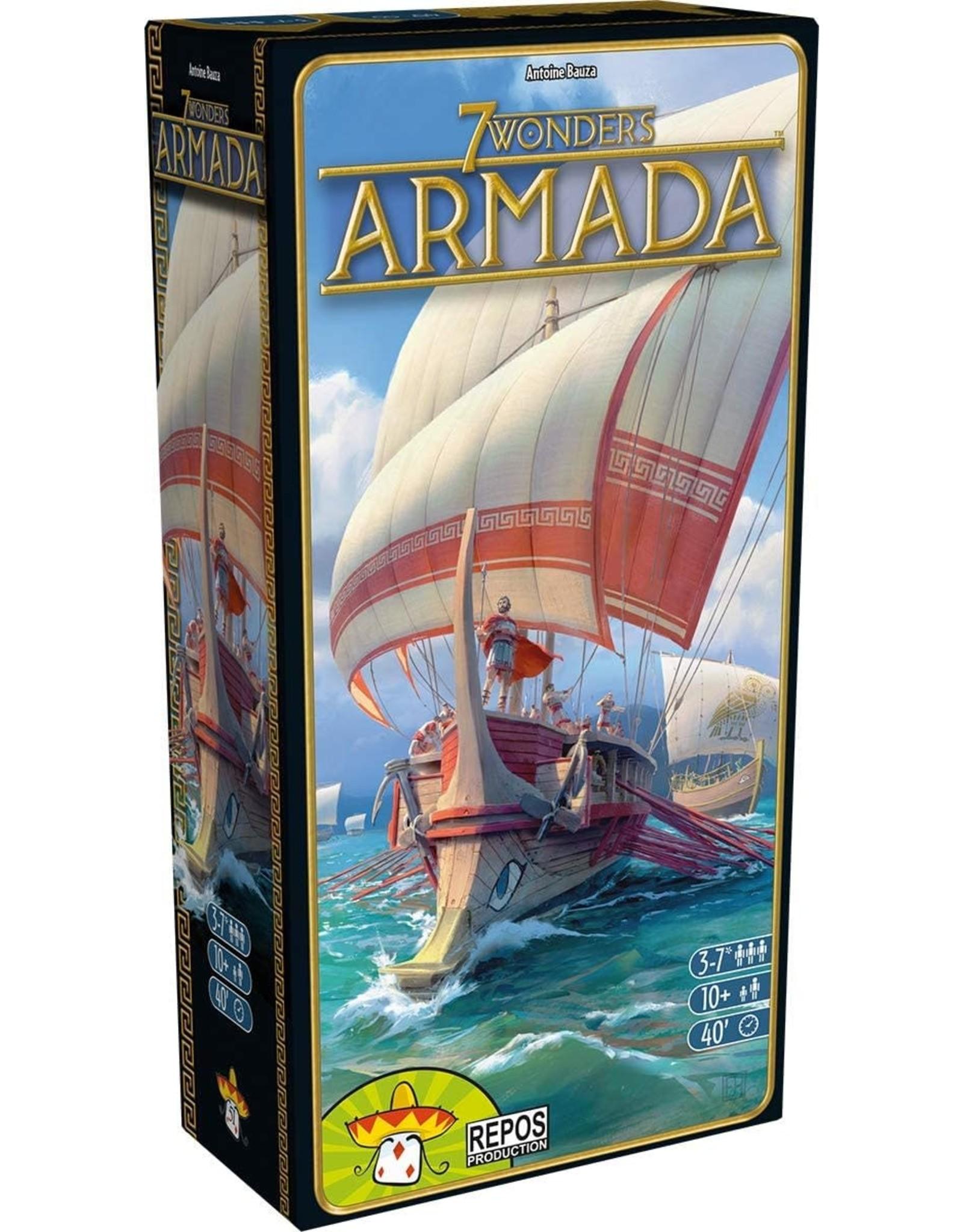 REPOS PRODUCTION 7 WONDERS ARMADA 2ND EDITION