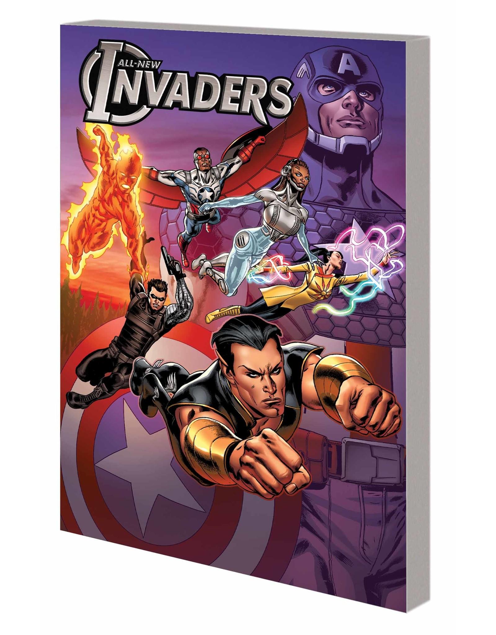 MARVEL COMICS ALL NEW INVADERS TP VOL 03 MARTIANS ARE COMING