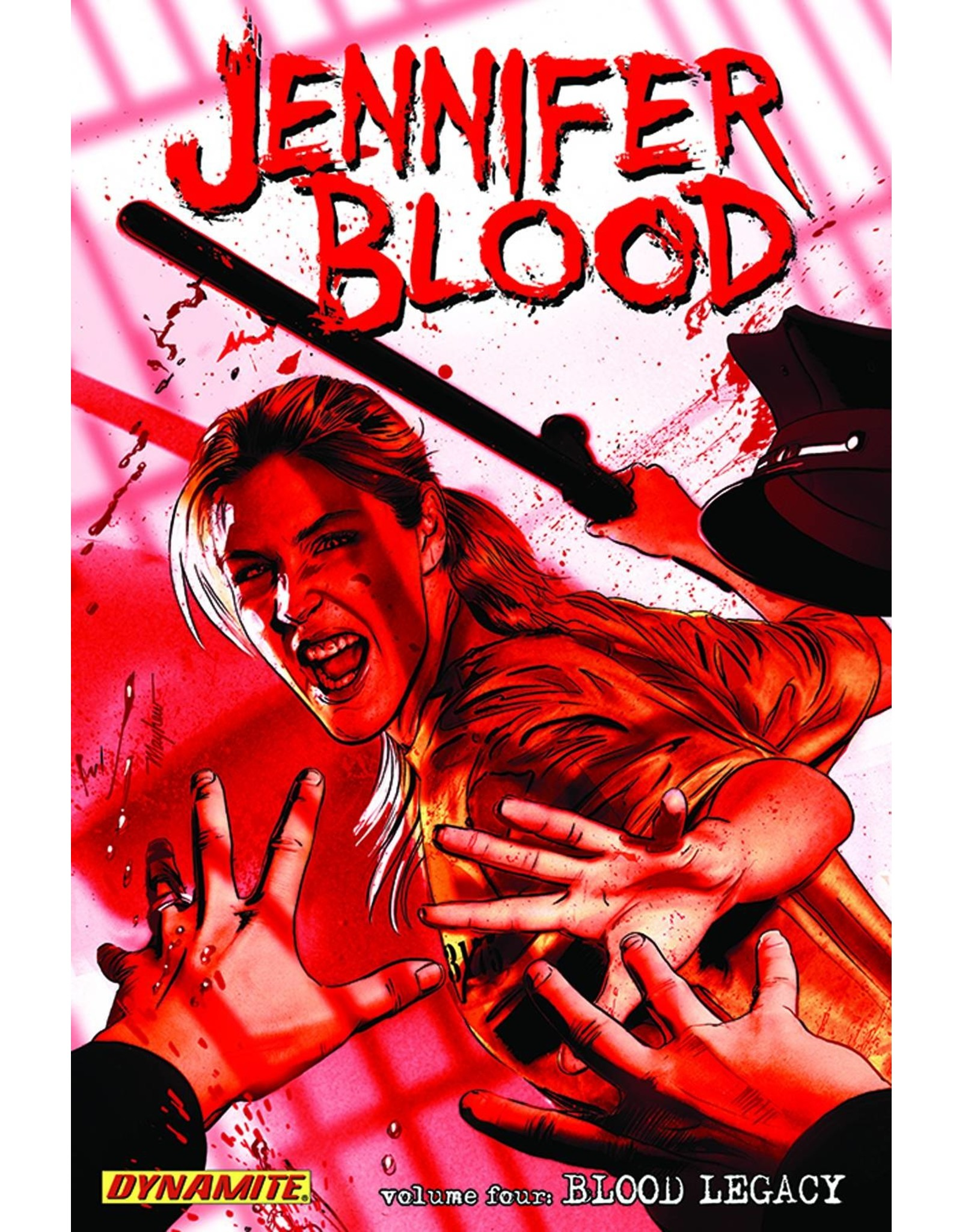 D. E. JENNIFER BLOOD TP VOL 05 BLOOD LEGACY