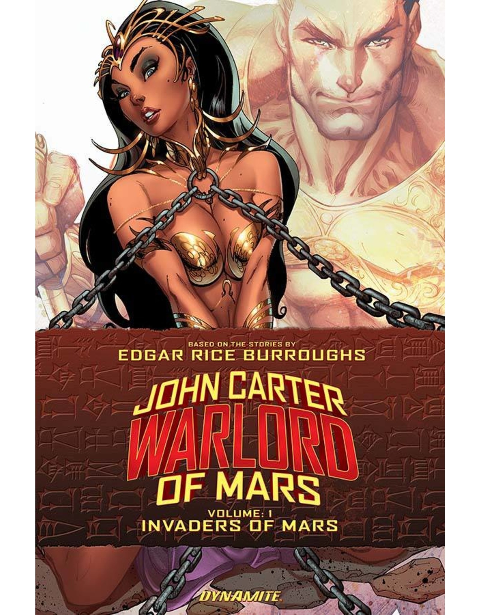 D. E. JOHN CARTER WARLORD TP VOL 01 INVADERS OF MARS