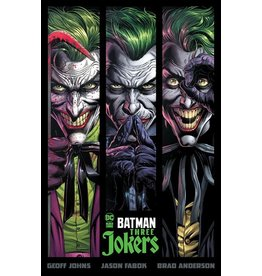 DC COMICS BATMAN THREE JOKERS HC