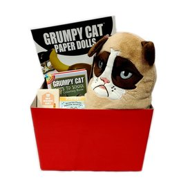ILLUSIVE COMICS GRUMPY CAT GIFT BASKET