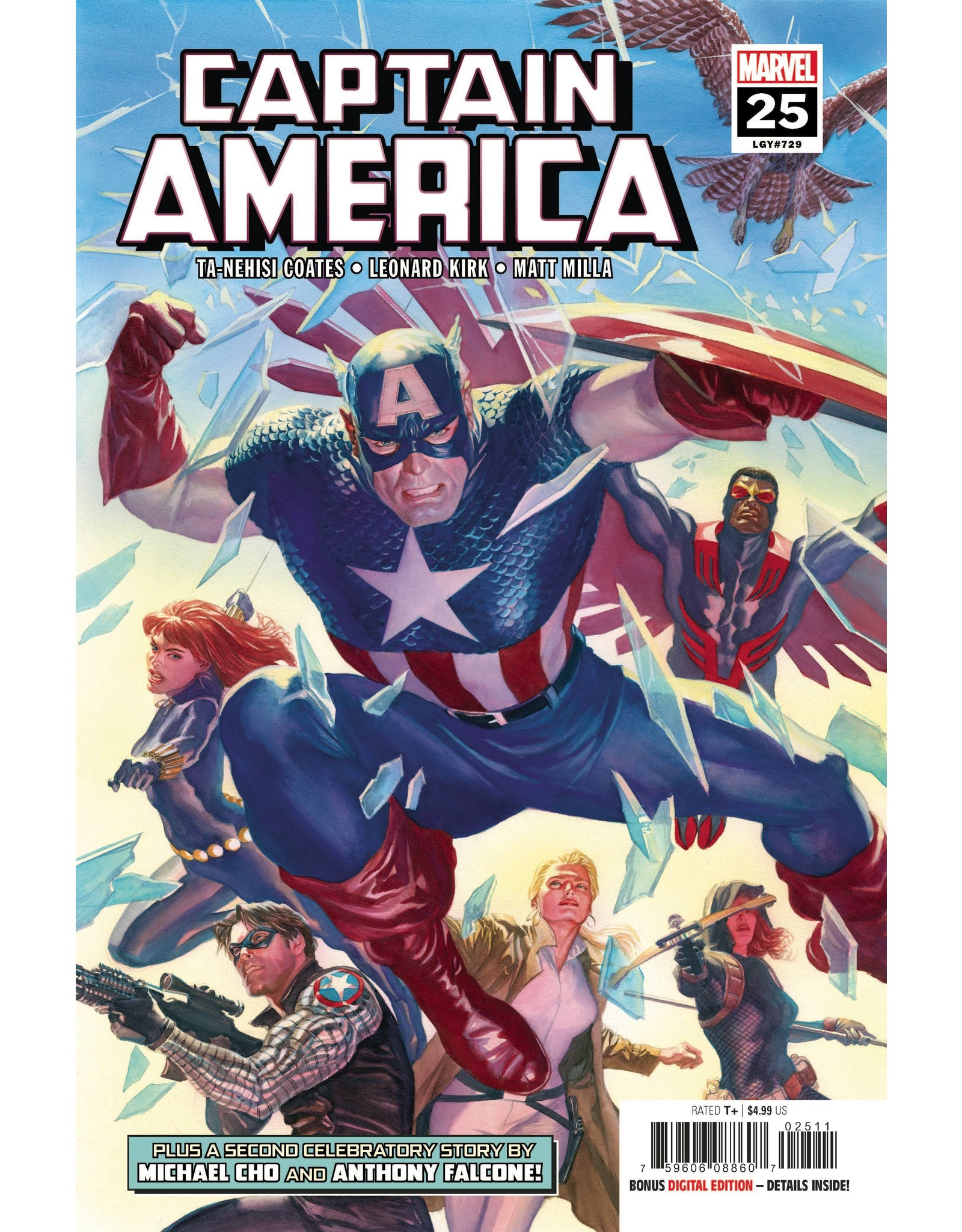 MARVEL COMICS CAPTAIN AMERICA #25