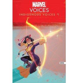 MARVEL COMICS MARVELS VOICES INDIGENOUS VOICES #1 RICHARDSON VAR