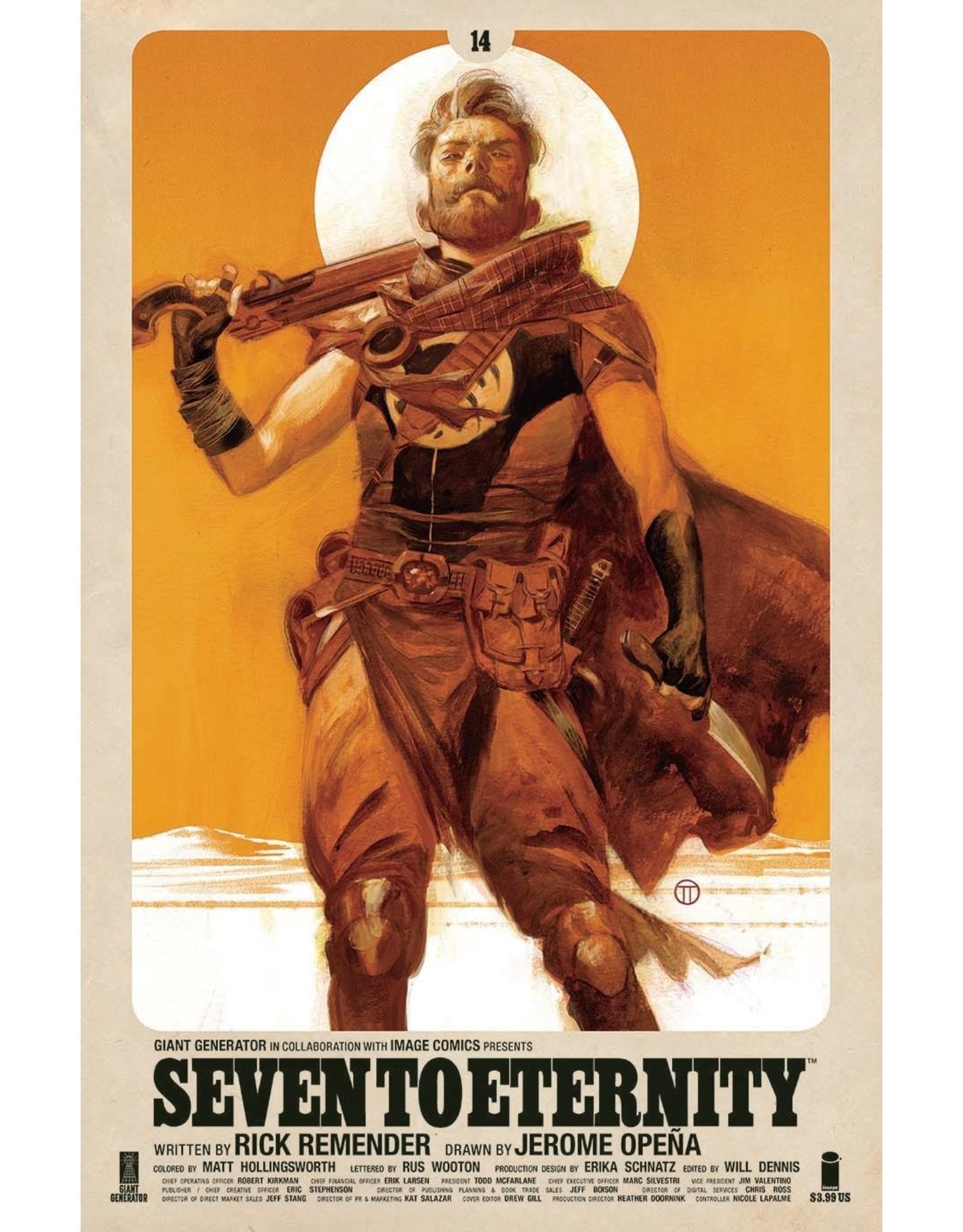 IMAGE COMICS SEVEN TO ETERNITY #14 CVR B TEDESCO