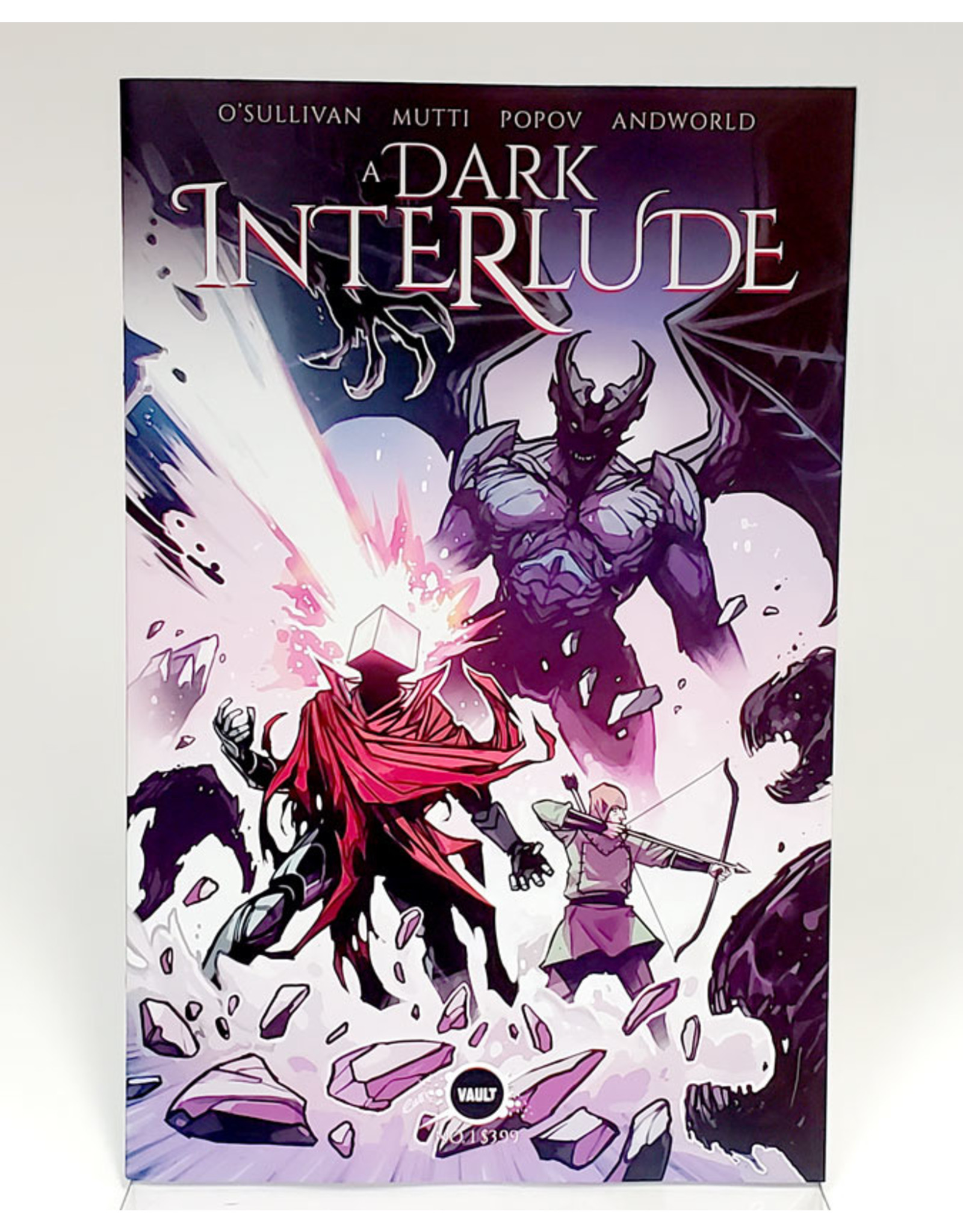 VAULT COMICS DARK INTERLUDE #1 1:15 INCENTIVE WIJNGAARD
