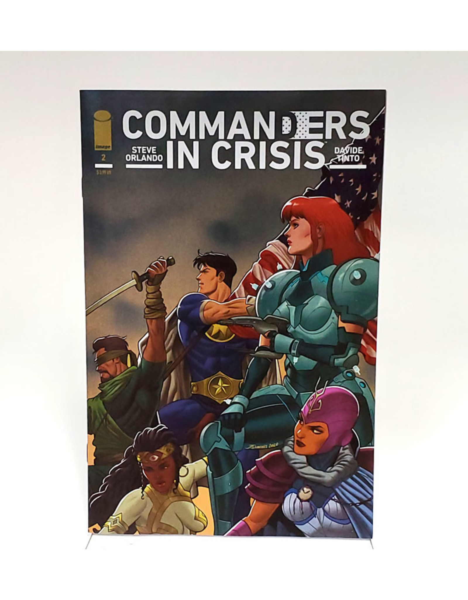 IMAGE COMICS COMMANDERS IN CRISIS #2 (OF 12) CVR E 1:25 INCENTIVE QUINONES