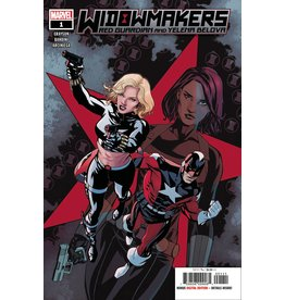MARVEL COMICS WIDOWMAKERS RED GUARDIAN YELENA BELOVA #1