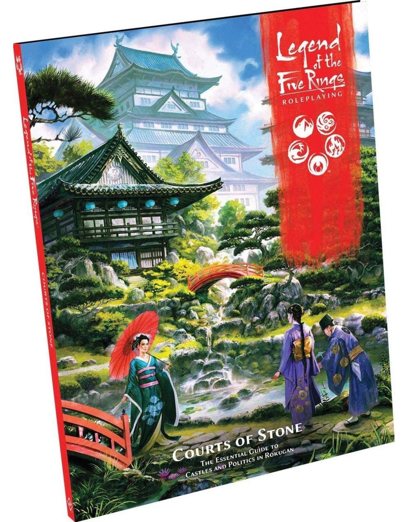 FANTASY FLIGHT GAMES LEGEND OF THE FIVE RINGS RPG COURTS OF STONE