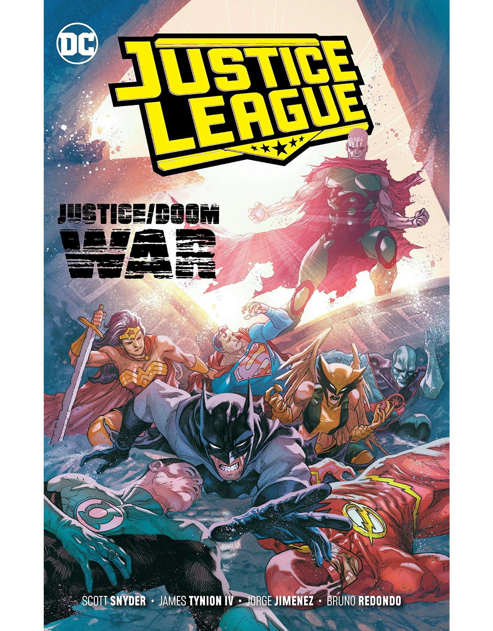 DC COMICS JUSTICE LEAGUE TP VOL 05 JUSTICE DOOM WAR