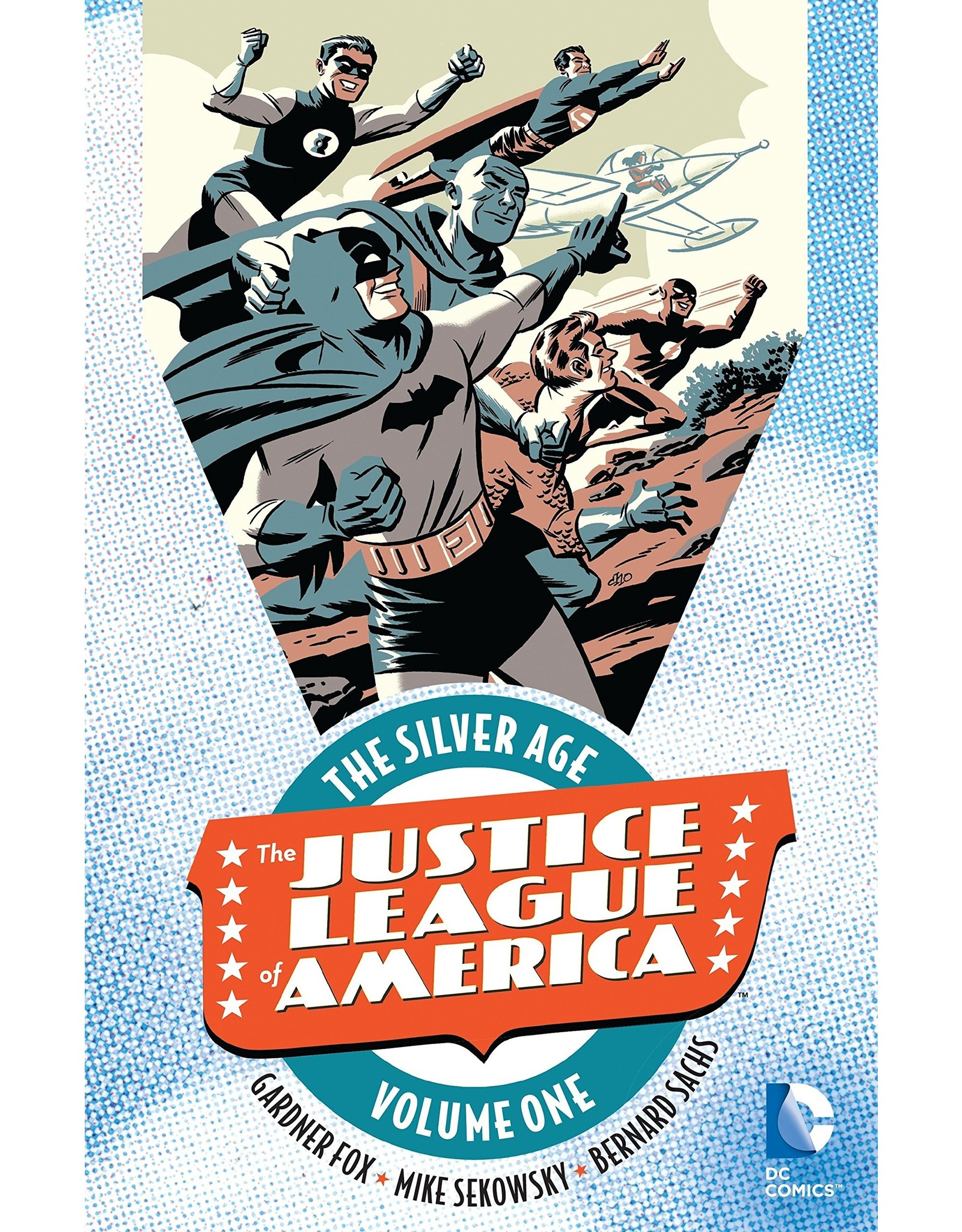 DC COMICS JUSTICE LEAGUE OF AMERICA THE SILVER AGE TP VOL 01