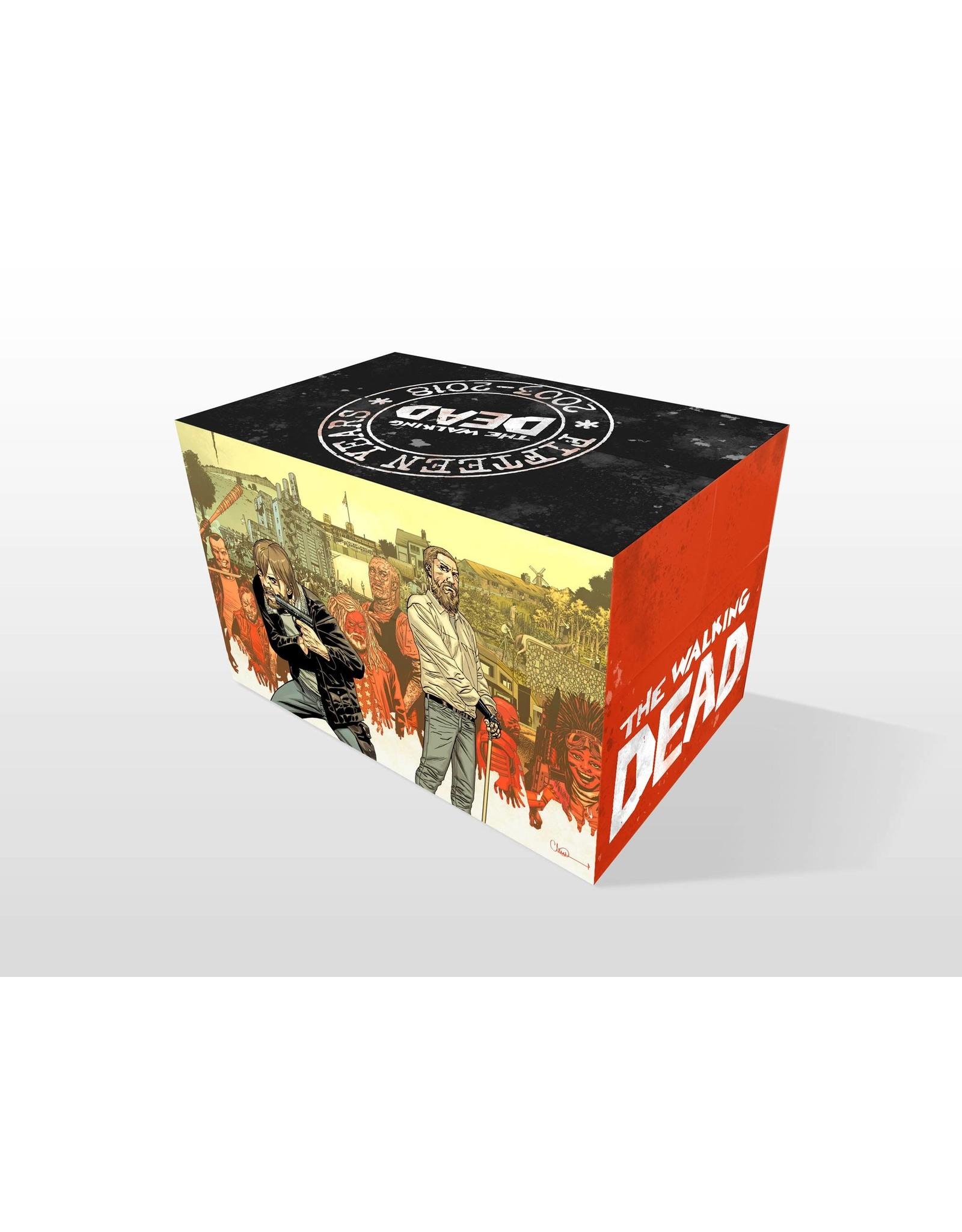 IMAGE COMICS WALKING DEAD COMPENDIUM 15TH ANNV BOX SET