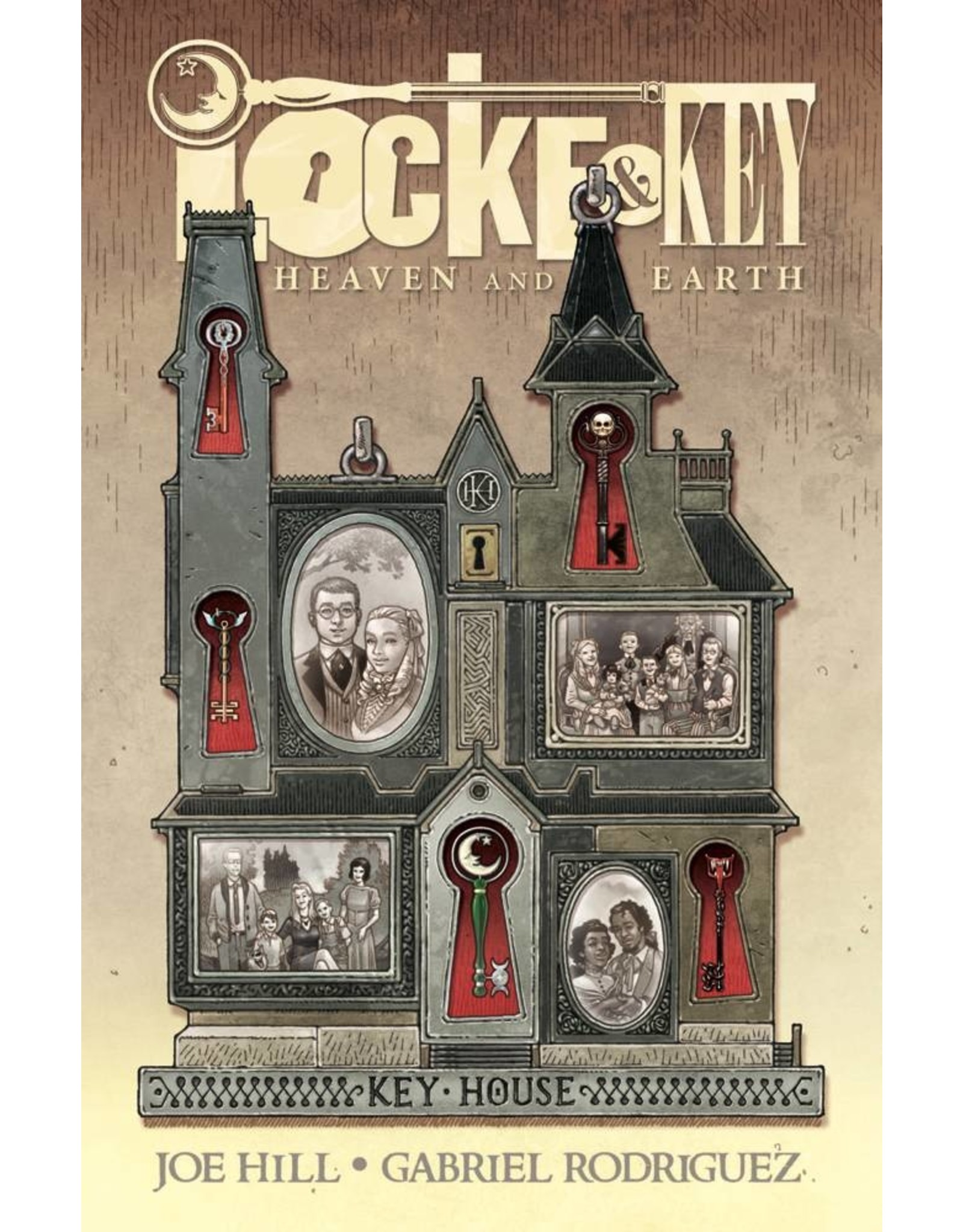 IDW PUBLISHING LOCKE & KEY HEAVEN & EARTH DLX HC ED