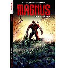 D. E. MAGNUS ROBOT FIGHTER TP VOL 01 FLESH & STEEL