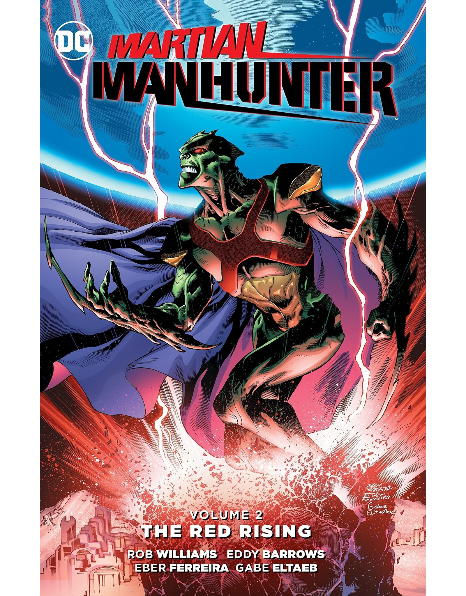 DC COMICS MARTIAN MANHUNTER TP VOL 02 THE RED RISING