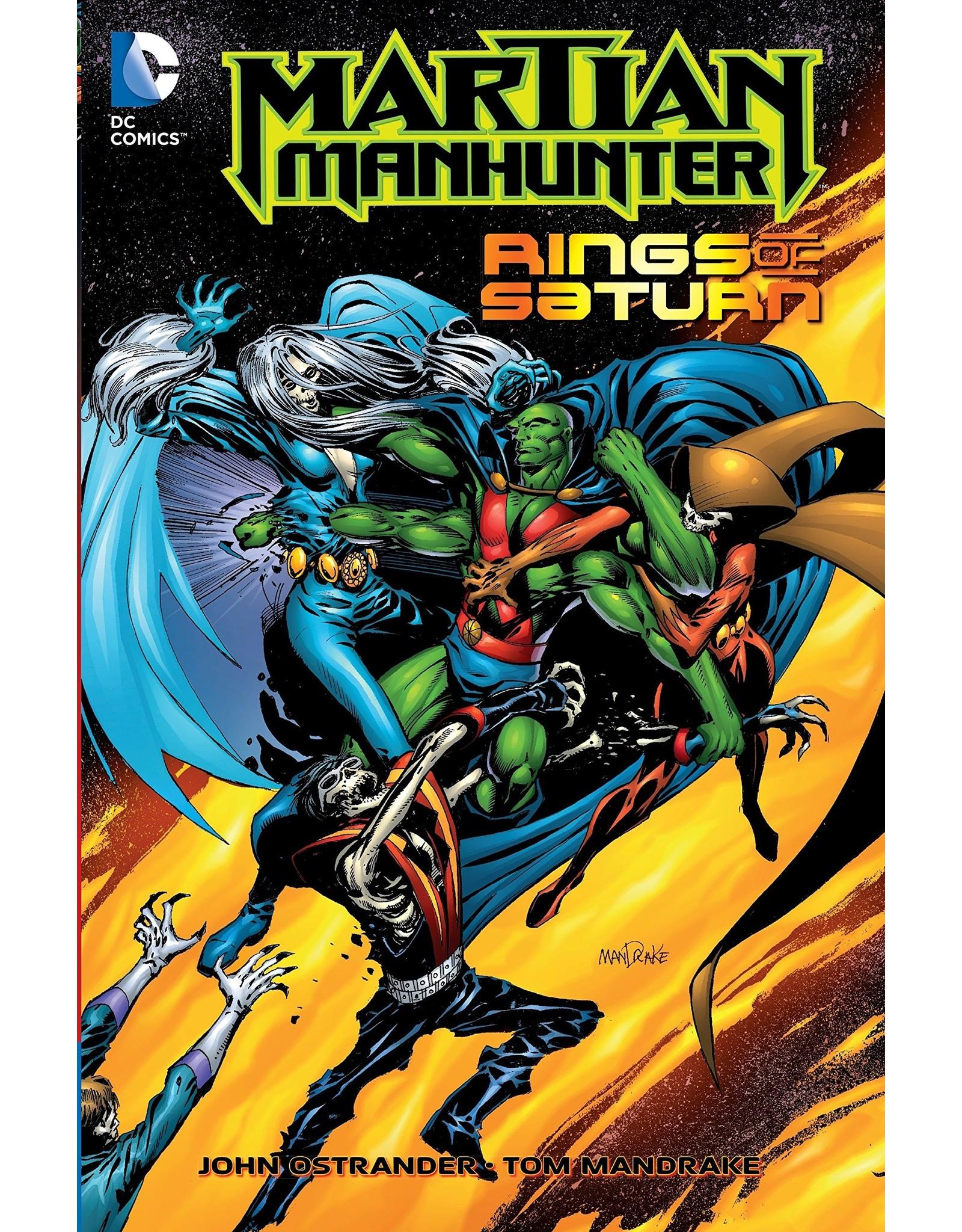 DC COMICS MARTIAN MANHUNTER RINGS OF SATURN TP