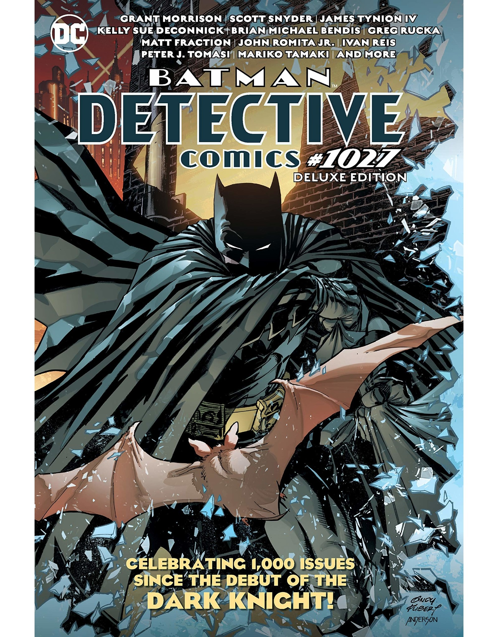 DC COMICS BATMAN DETECTIVE COMICS #1027 THE DELUXE EDITION HC