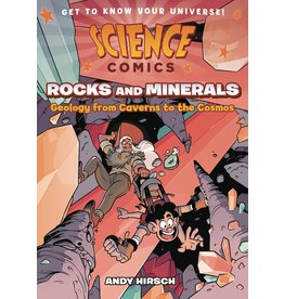 :01 FIRST SECOND SCIENCE COMICS ROCKS & MINERALS GN