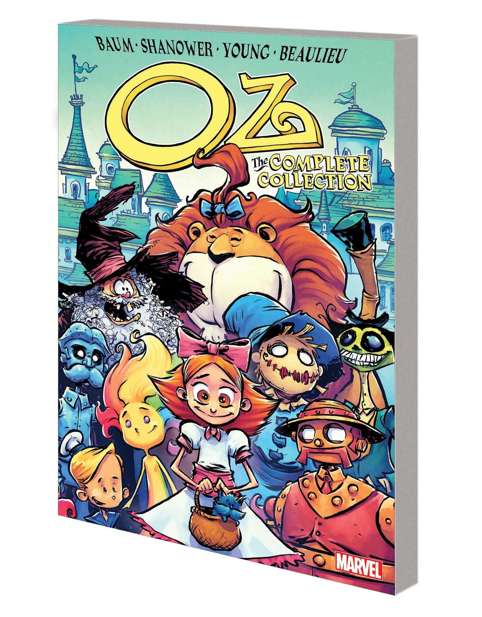 MARVEL COMICS OZ COMPLETE COLLECTION GN TP ROAD TO EMERALD CITY