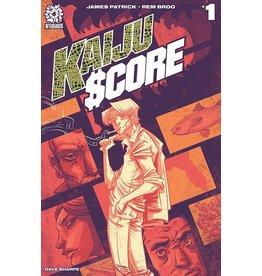 AFTERSHOCK COMICS KAIJU SCORE #1 CVR A BROO