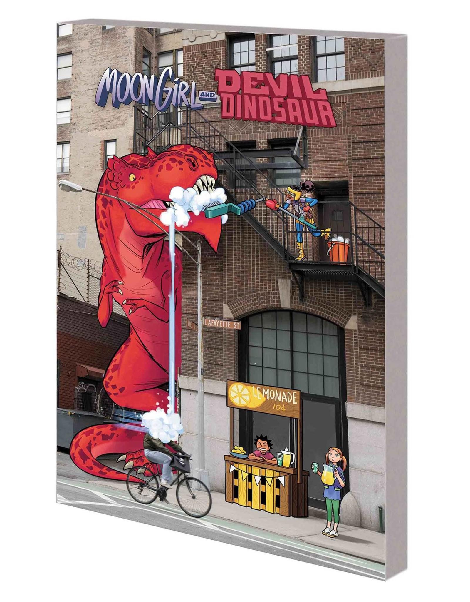 MARVEL COMICS MOON GIRL AND DEVIL DINOSAUR TP VOL 06 SAVE OUR SCHOOL