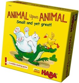HABA GAMES ANIMAL UPON ANIMAL SMALL BUT GREAT