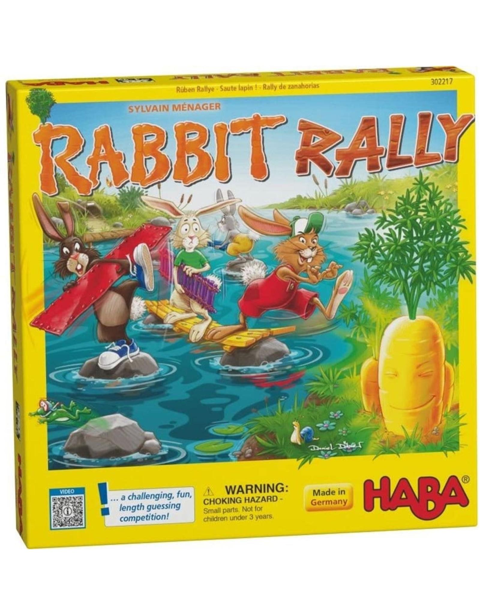 HABA GAMES RABBIT RALLY