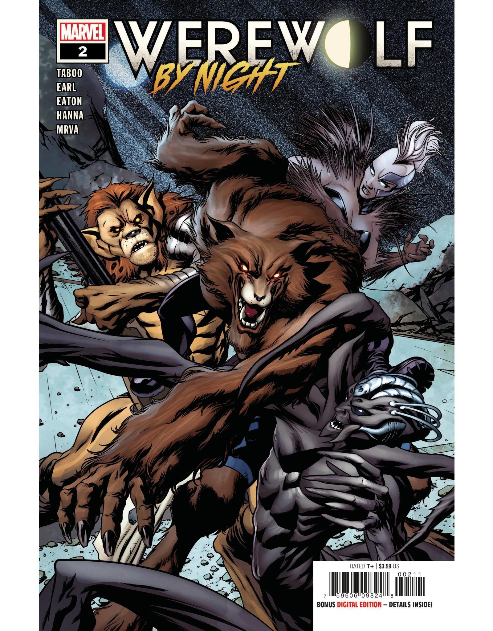 MARVEL COMICS WEREWOLF BY NIGHT #2 (OF 4)