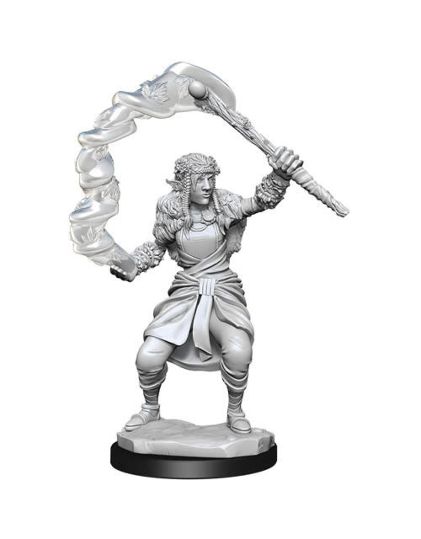 WIZKIDS D&D NOLZUR'S MARVELOUS FEMALE FIRBOLG DRUID UNPAINTED MINI W13