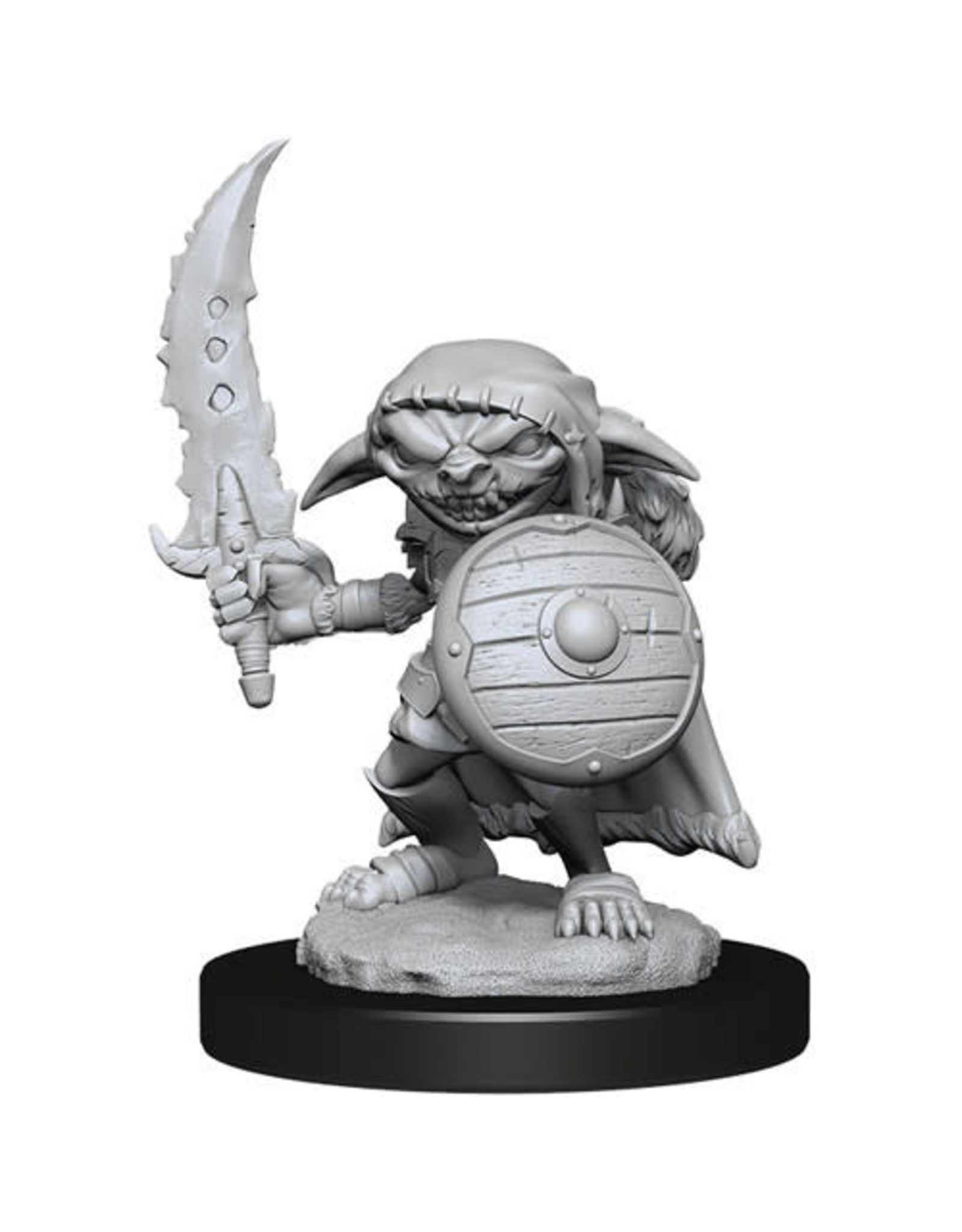 WIZKIDS DEEP CUTS UNPAINTED MINIS MALE GOBLIN FIGHTER W13