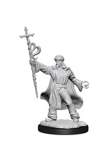 WIZKIDS D&D NOLZUR'S MARVELOUS MALE HUMAN WIZARD UNPAINTED MINI W13