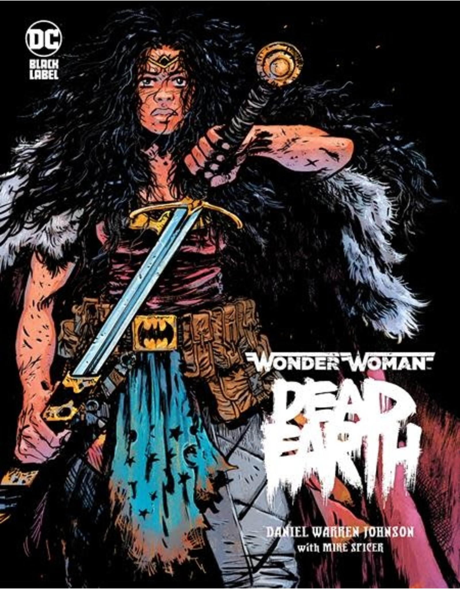 DC COMICS WONDER WOMAN DEAD EARTH HC
